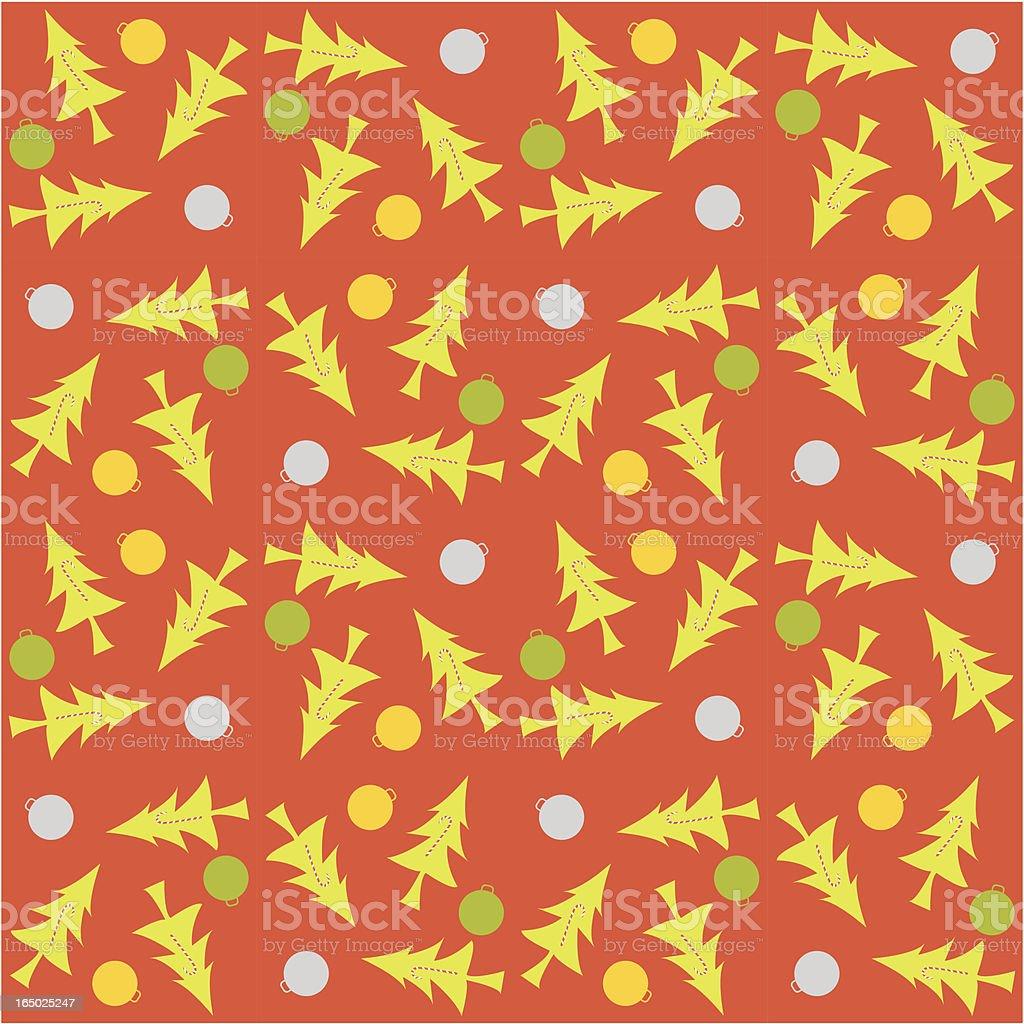 Seamless Christmas Wallpaper ( Vector ) royalty-free stock vector art