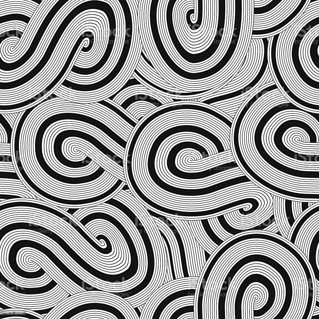 Seamless circle background pattern royalty-free stock vector art