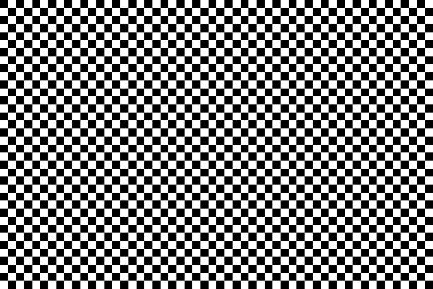 Seamless classic background of black and white squares Seamless classic background of black and white squares. Vector illustration. living organism part stock illustrations