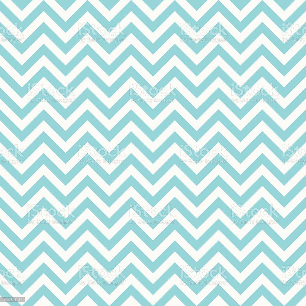seamless classic bright blue chevron pattern. vector art illustration