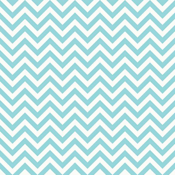 illustrazioni stock, clip art, cartoni animati e icone di tendenza di seamless classic bright blue chevron pattern. - zigzag