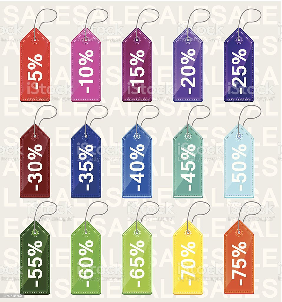 Seamless colored price tags royalty-free seamless colored price tags stock vector art & more images of advertisement
