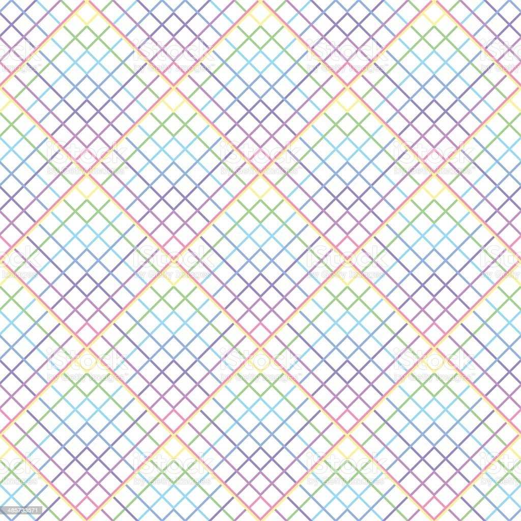 seamless colorefull grid pattern with squares, royalty-free seamless colorefull grid pattern with squares stock vector art & more images of 2000-2009