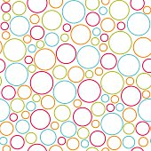 seamless colorful dots background pattern vector