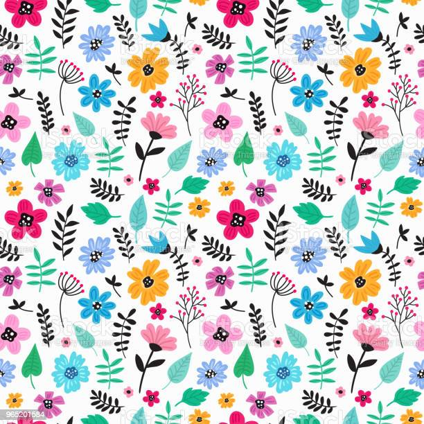 Seamless colorful hand drawn floral pattern with wild flowers simple vector id965201584?b=1&k=6&m=965201584&s=612x612&h=wwvpzva8rhfhs7asbjepa71niwtg9vv45ngjak4wa5u=