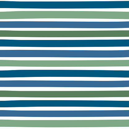 Seamless colorful pattern with horizontal stripes.