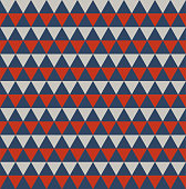 Seamless colorful triangle pattern background