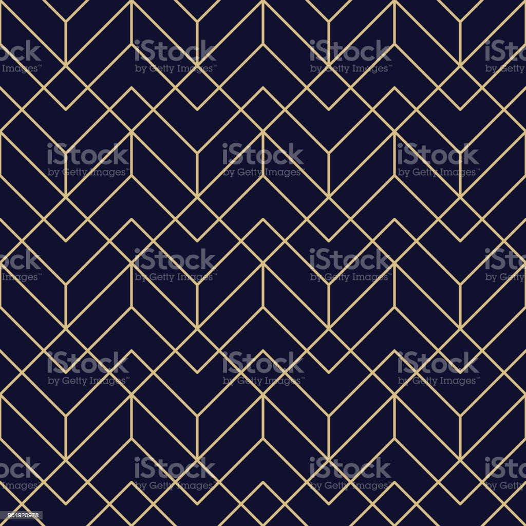 Sömlös geometriska mönster - Royaltyfri Abstrakt vektorgrafik