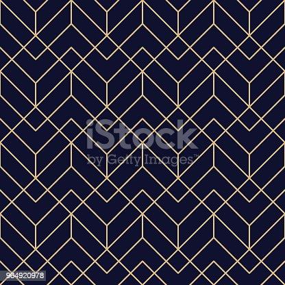 istock Seamless Geometric Pattern 964920978