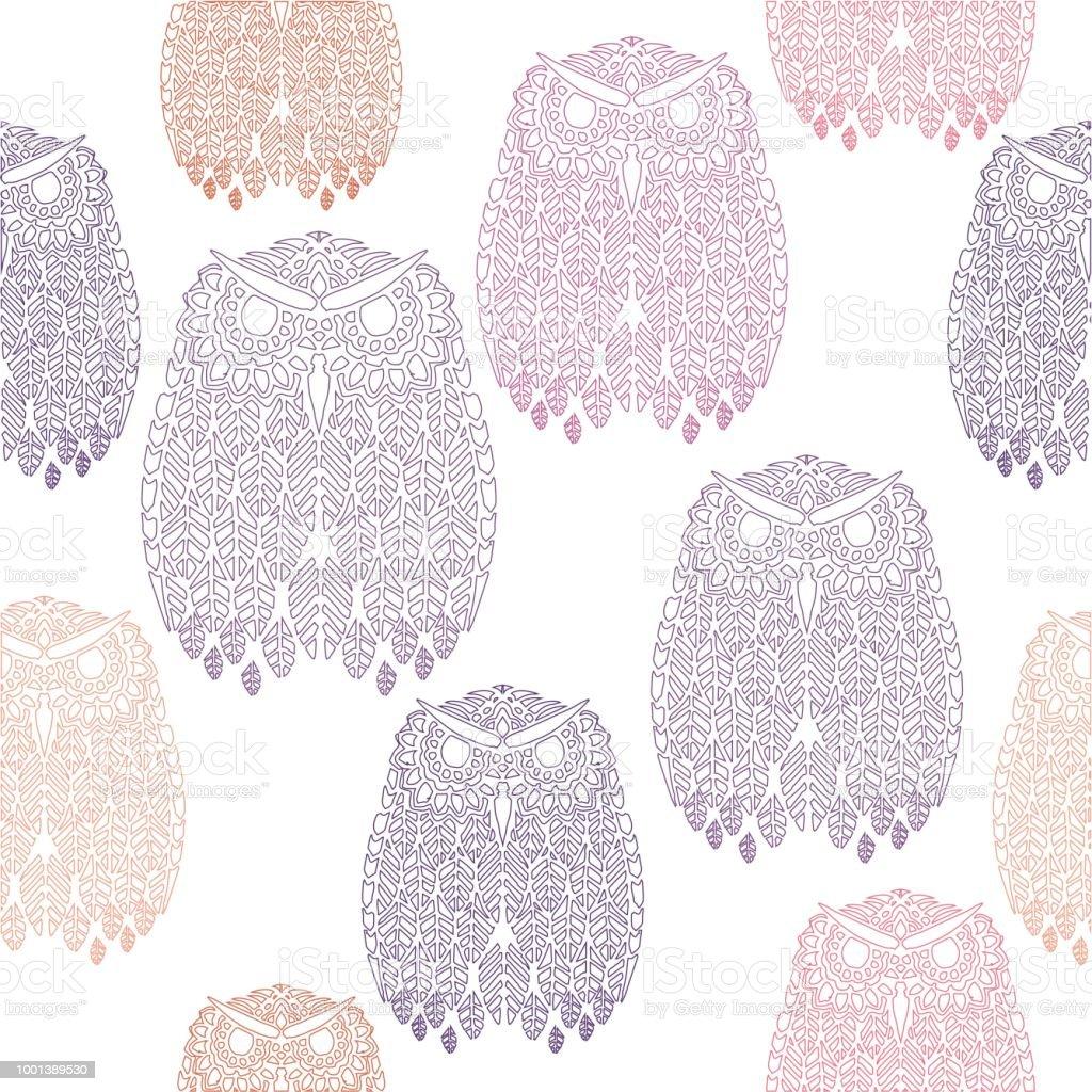 Fantástico Crochet Patrón De Búho Sin Friso - Ideas de Patrones de ...