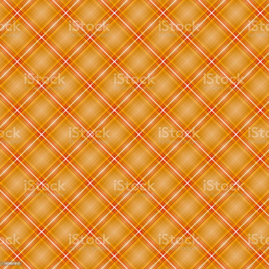 Seamless cross orange shading diagonal pattern royalty-free stock vector art
