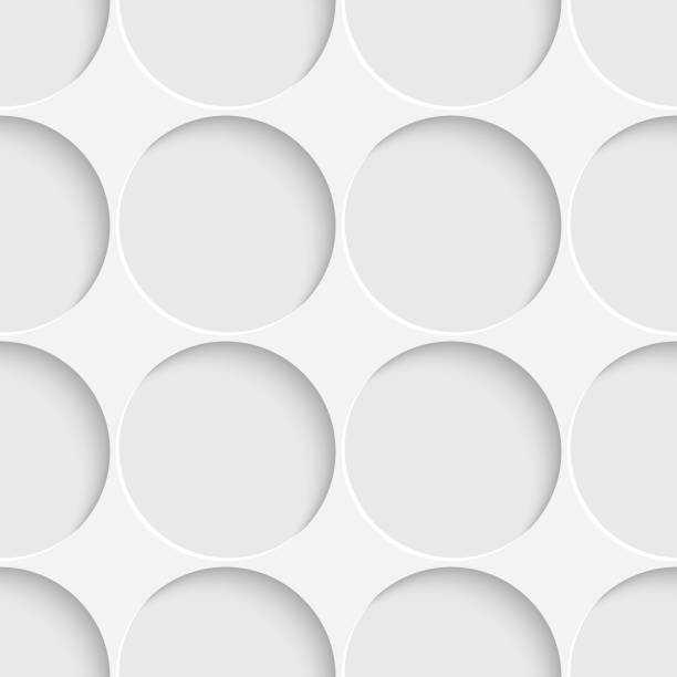 Nahtloser Ctrcle-Hintergrund – Vektorgrafik