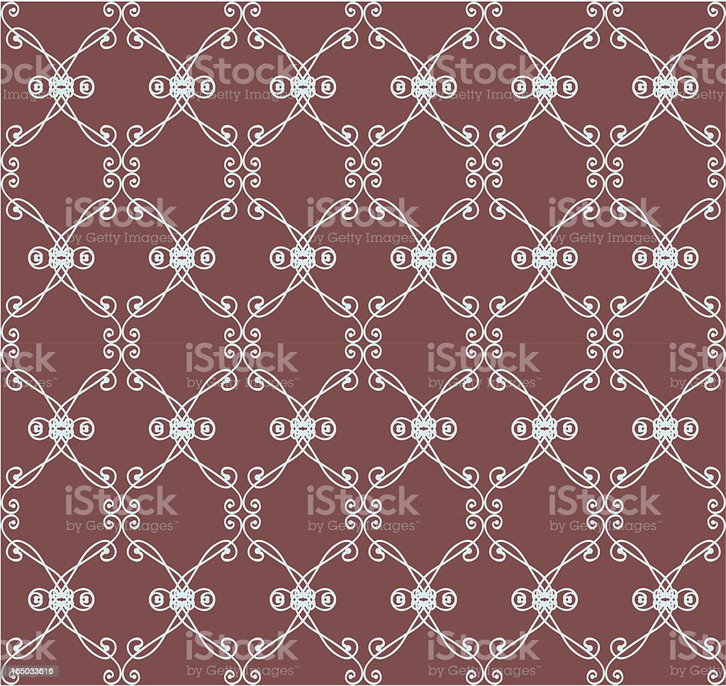 Seamless Deco Background ( Vector ) vector art illustration