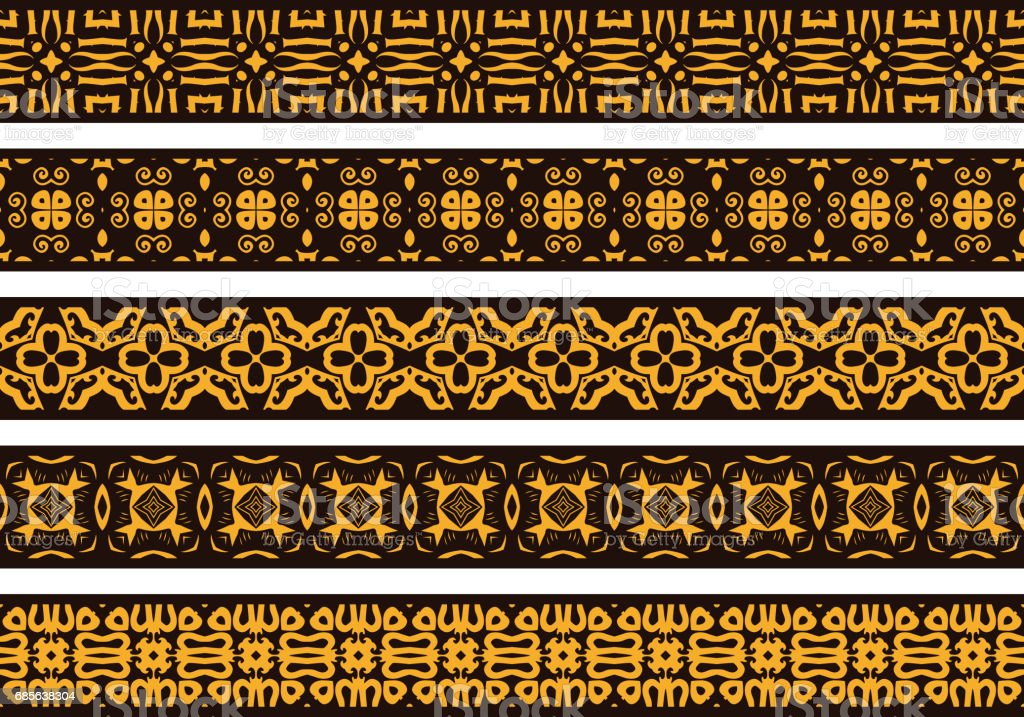 Seamless decorative borders royalty-free seamless decorative borders 0명에 대한 스톡 벡터 아트 및 기타 이미지