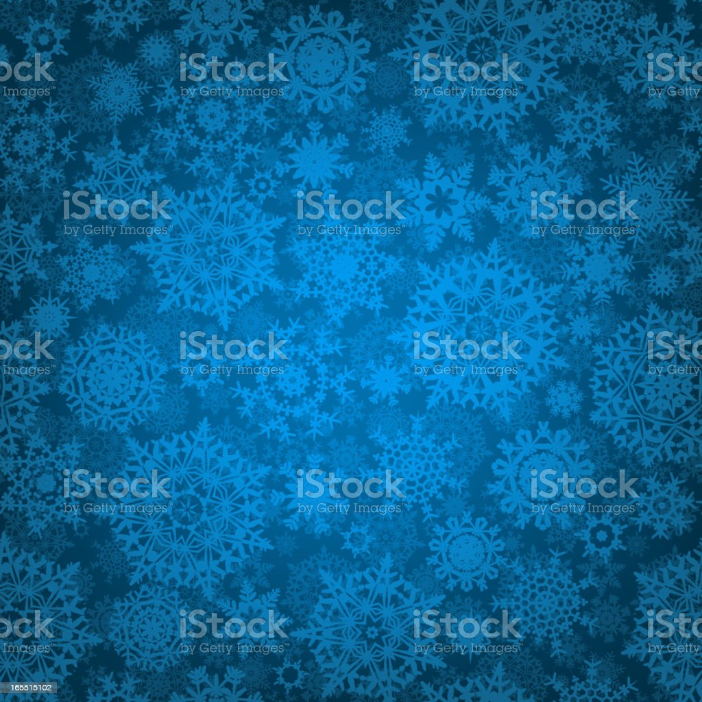 Seamless deep blue christmas pattern. EPS 8 royalty-free stock vector art