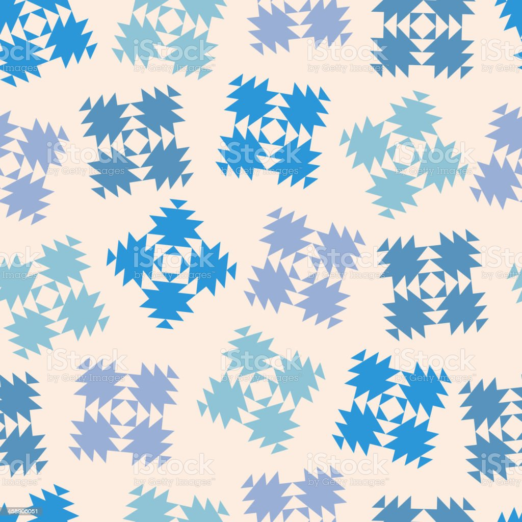 Seamless design with abstract snowflakes royalty-free seamless design with abstract snowflakes stock vector art & more images of abstract