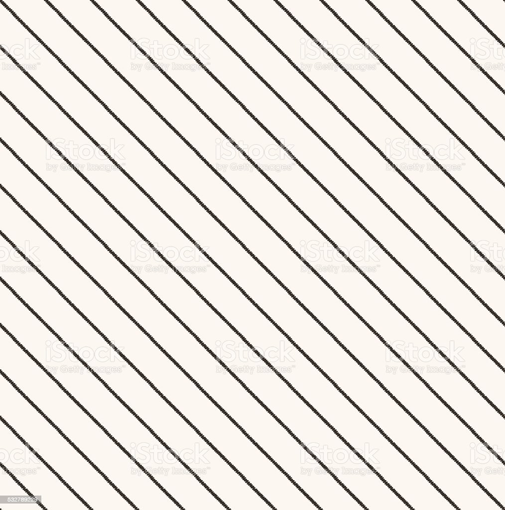 seamless diagonal stripes fabric pattern vector art illustration