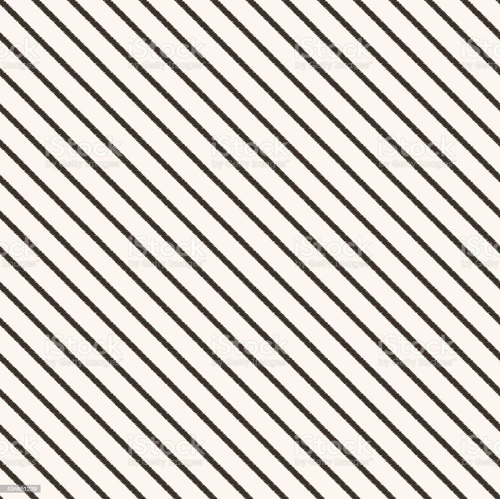 seamless diagonal stripes pattern vector art illustration