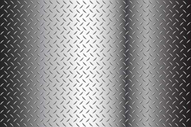 bezszwowy szablon tła diamentowej złotej tekstury - metal stock illustrations