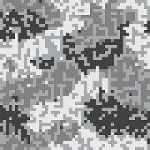 Seamless digital camoflage