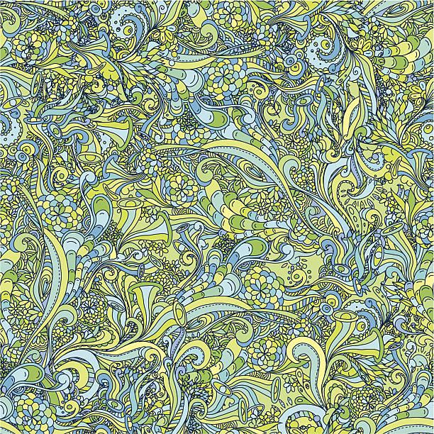 Seamless Doodle Background vektorkonstillustration