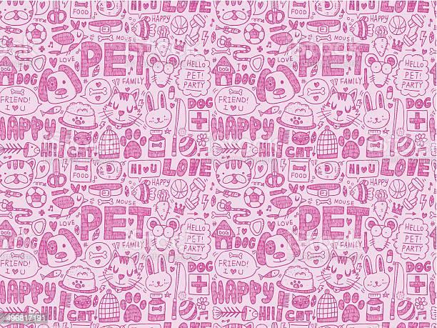 Seamless doodle pet pattern vector id496817191?b=1&k=6&m=496817191&s=612x612&h=zkaqz0ueaja p9qkpgydgnibjq70w2hrhhhr1x2lig4=