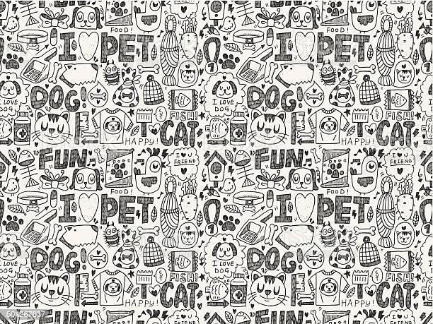 Seamless doodle pet pattern vector id504267837?b=1&k=6&m=504267837&s=612x612&h=jaav0unocpe6rmldu1z1rm5kooe04db2b7z0aiisvwo=