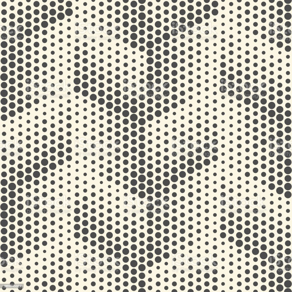 Seamless Dots Pattern. Abstract Black and White Halftone Background seamless dots pattern abstract black and white halftone background - stockowe grafiki wektorowe i więcej obrazów abstrakcja royalty-free