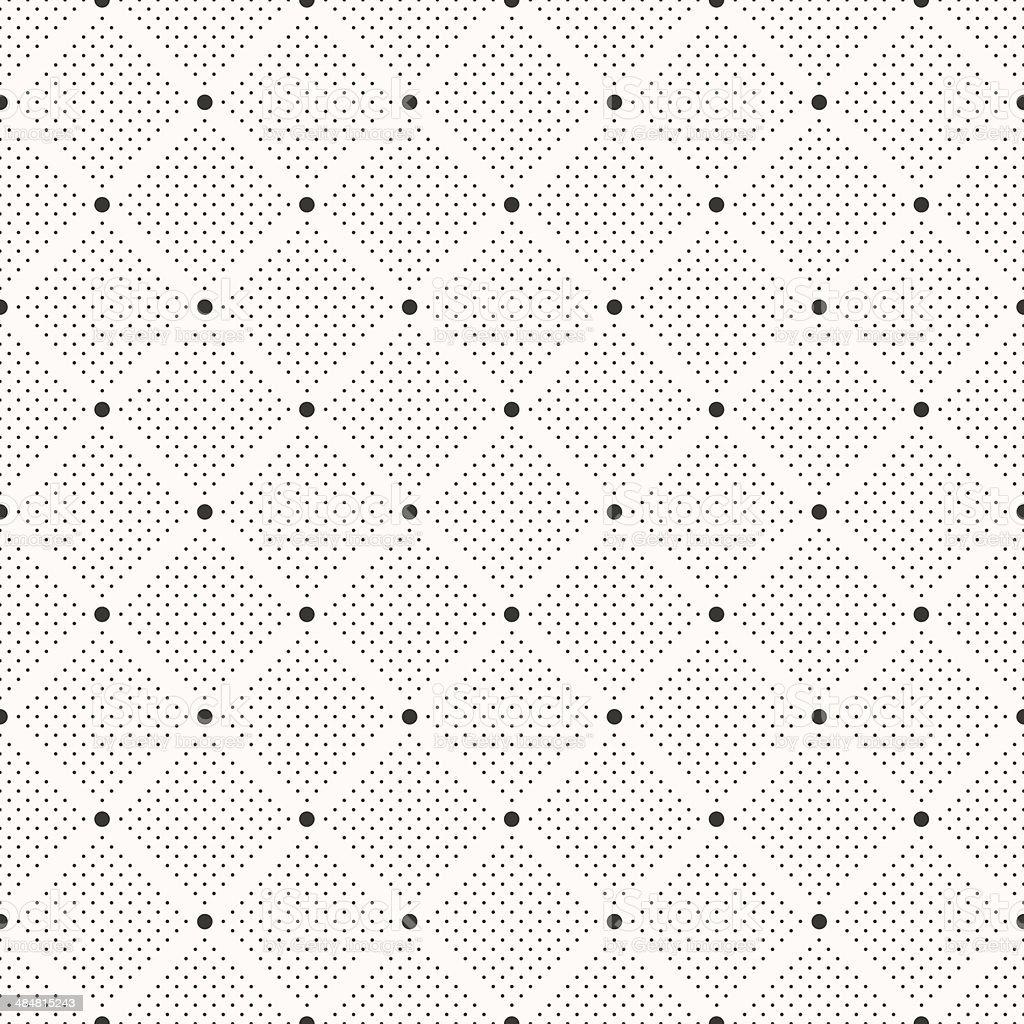 Ilustración de Patrón Sin Costuras De Puntos Polka Dot Imprimir ...