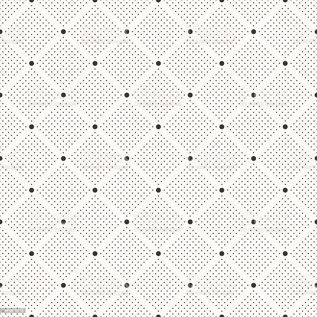 Seamless dots pattern. Polka dot print. Stylish vector texture vector art illustration