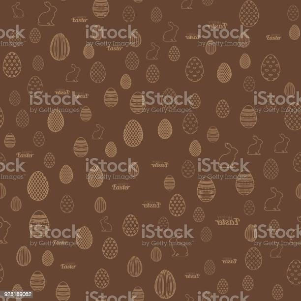 Seamless easter pattern with chocolate background easter eggs vector vector id928189082?b=1&k=6&m=928189082&s=612x612&h=dmcmeed318zvrb6lhseai91mjflarbyximkkvpum93m=