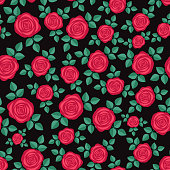 Perfect for scrapbooking, textile, wrapping paper etc. Vector illustration.