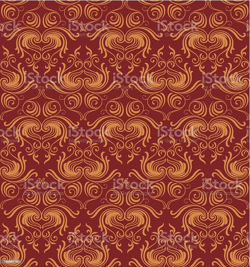Seamless elegant wallpaper background royalty-free seamless elegant wallpaper background stock vector art & more images of antique