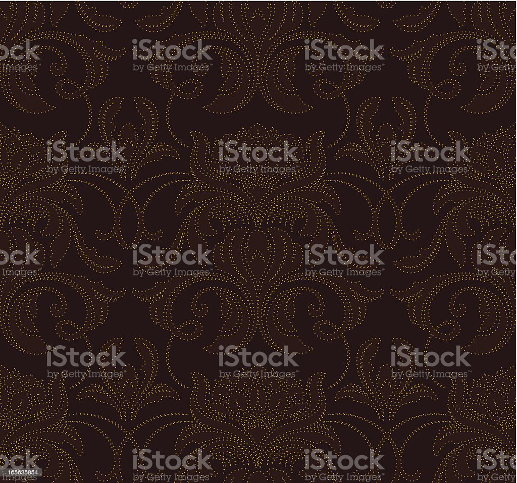 Seamless elegant wallpaper background royalty-free seamless elegant wallpaper background stock vector art & more images of arts culture and entertainment