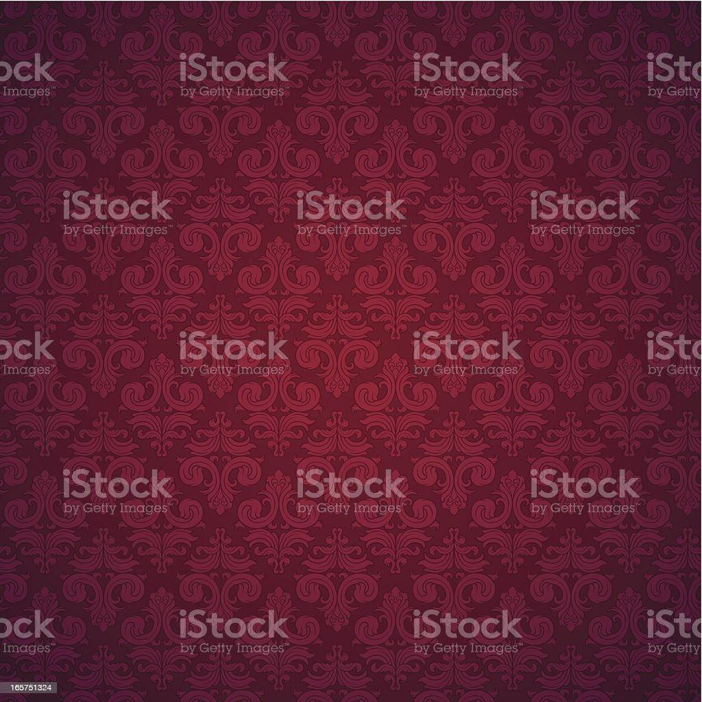 Seamless elegant wallpaper background royalty-free stock vector art