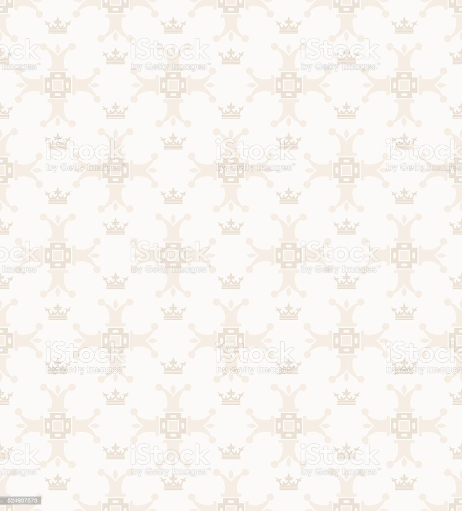 Seamless Elegant Wallpaper Vintage Stock Illustration   Download ...