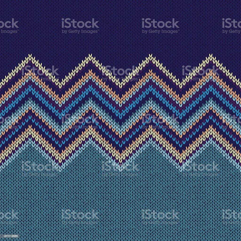 Tejido Geométrico Patrón Sin Costuras étnico Estilo Gre Azul ...