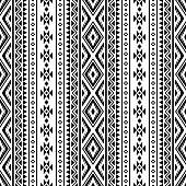 istock Seamless Ethnic Pattern design vector 1266227058