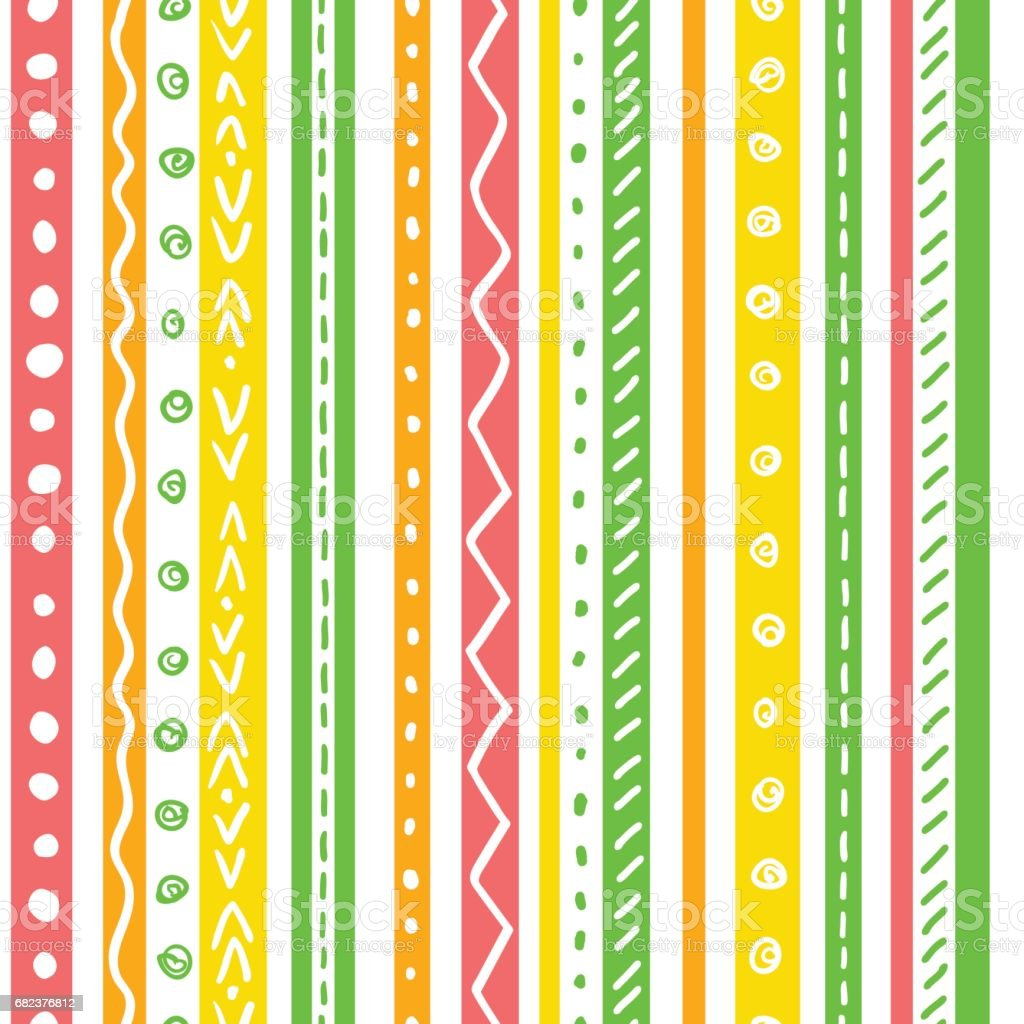 Seamless ethnic pattern with soft color stripes. royalty-free seamless ethnic pattern with soft color stripes stock vector art & more images of african culture