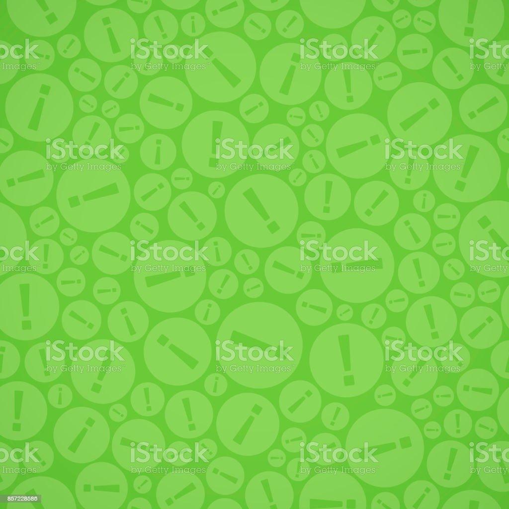 Nahtlose Ausrufezeichen – Vektorgrafik