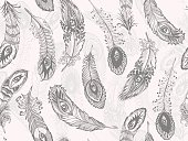 seamless feather background