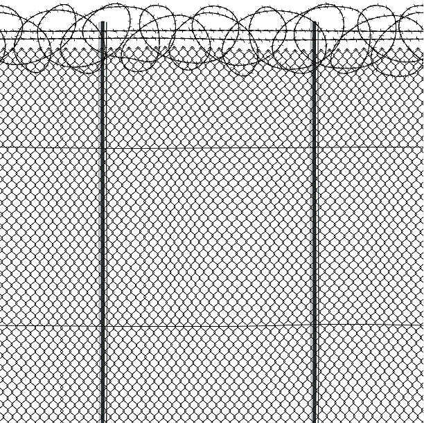 Royalty Free Barbed Wire Clip Art, Vector Images & Illustrations ...