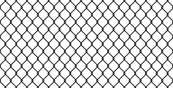 Seamless Fence Vector