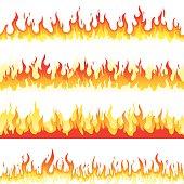 Seamless Fire Flame