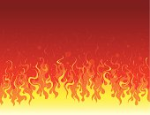 Seamless background of flame.