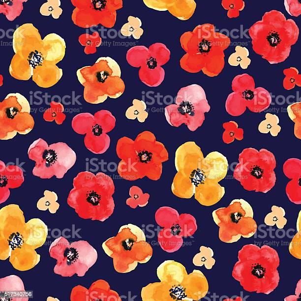 Seamless floral pattern drawn watercolor vector id517340756?b=1&k=6&m=517340756&s=612x612&h=haj6f0actcelij0qan3syeqevoziumvhooqucxzxfh0=