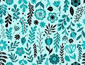 istock Seamless floral pattern 1323783661