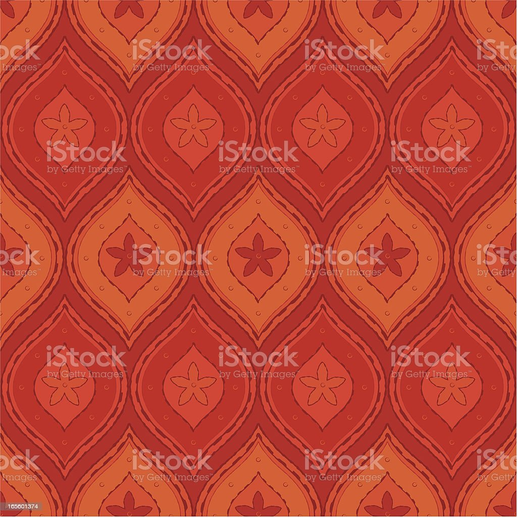Seamless Floral Pattern royalty-free seamless floral pattern stock vector art & more images of backgrounds