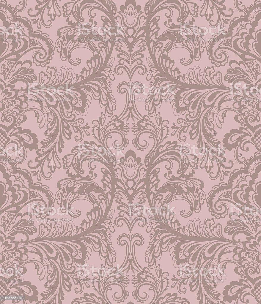 Seamless. Floral Pattern vector art illustration