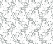Seamless floral pattern.